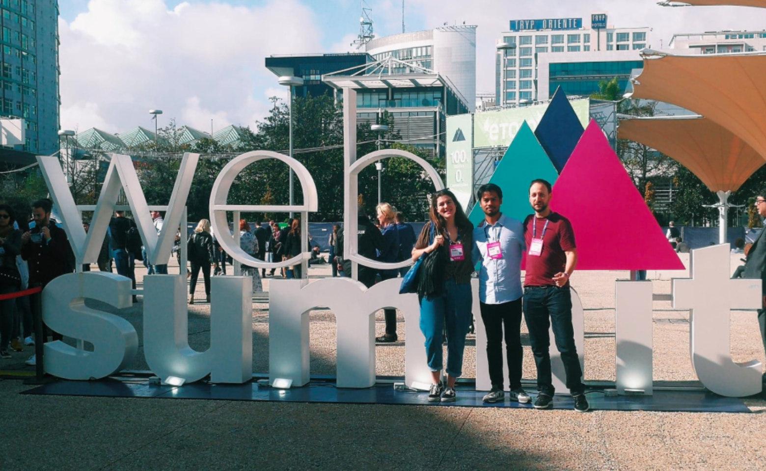 Le projet interne de Cherry Pulp présenté au Web Summit